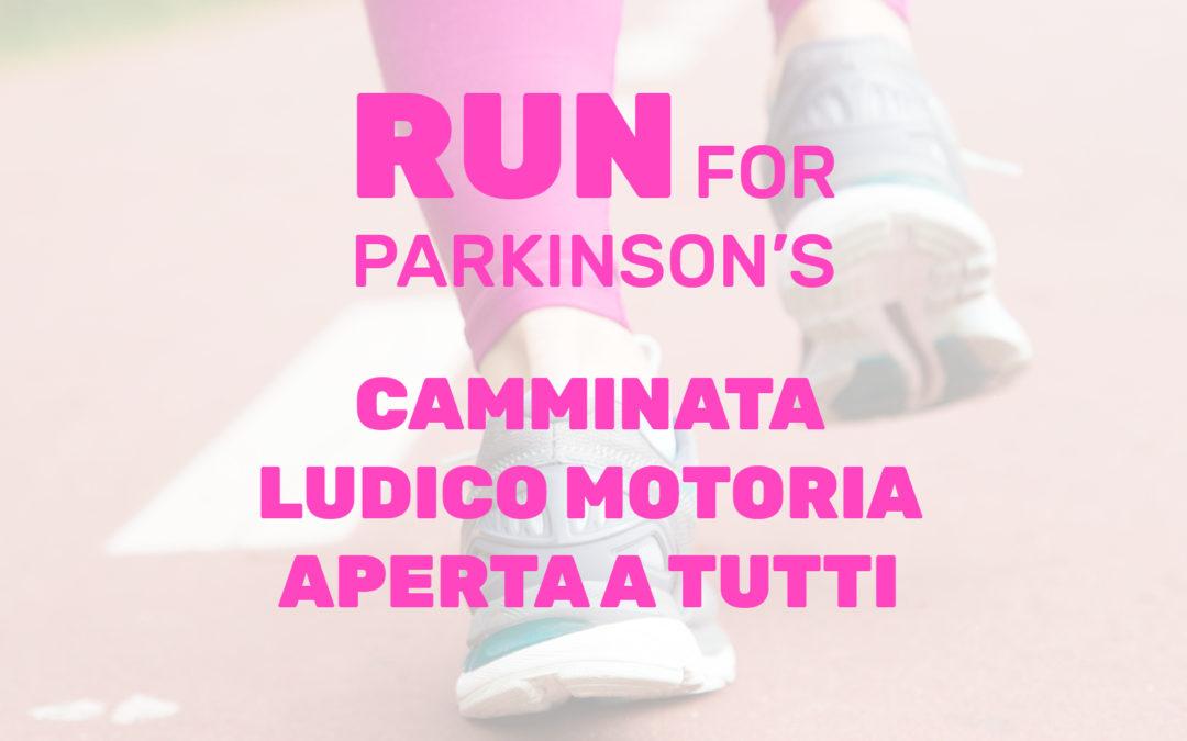 Run for Parkinson's: 7 aprile 2019