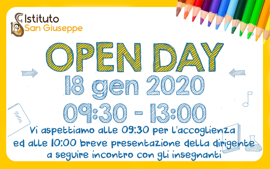 Open Day 18 gen 2020